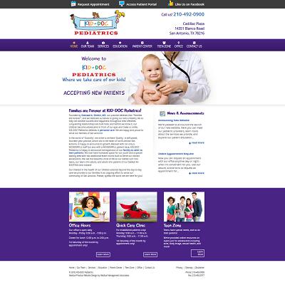 Kid-Doc Pediatrics, Pediatrics