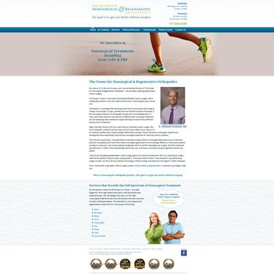 The Center for Nonsurgical & Regenerative Orthopedics, Orthopedics