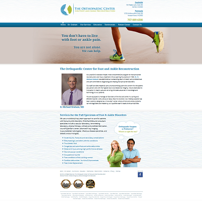 Orthopaedic Center for Foot and Ankle Reconstruction, Orthopaedics