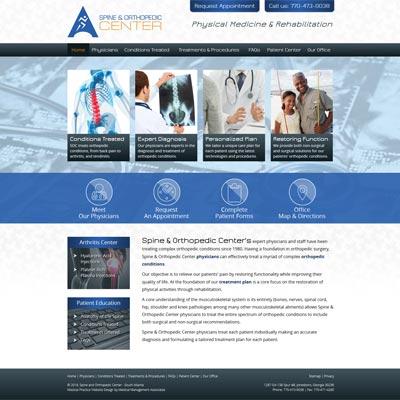 Spine & Orthopedic Center, Orthopedics