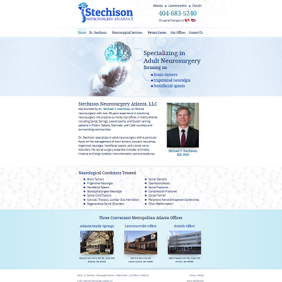 Stechison Neurosurgery Atlanta, LLC, Neurosurgery