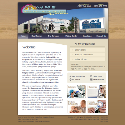 Western Medical Eye Center, Ophthalmology