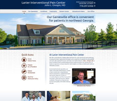 Client: Lanier Interventional Pain Center