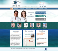 Client: Tasman Eye Consultants