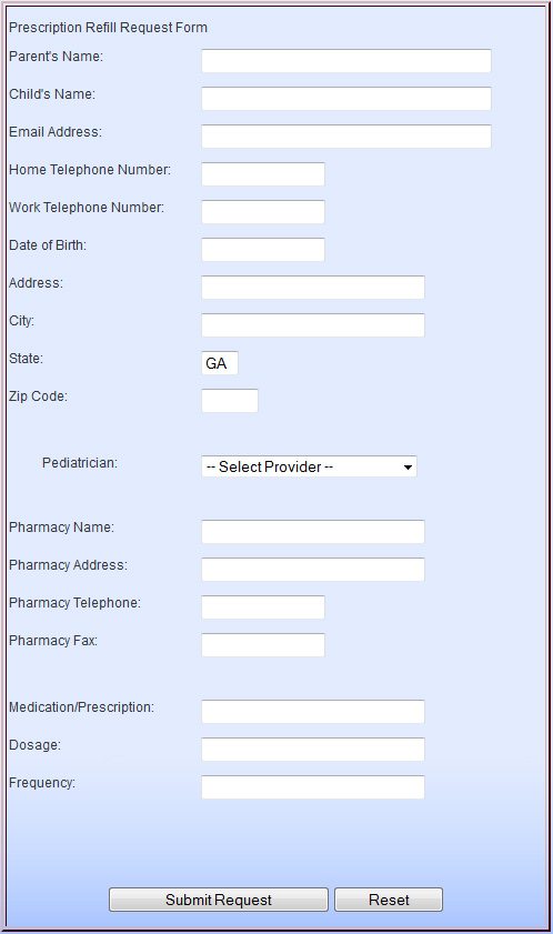 form-rx Prescription Request Form Examples on testimonials form examples, search form examples, patient history form examples, contact form examples, registration form examples,
