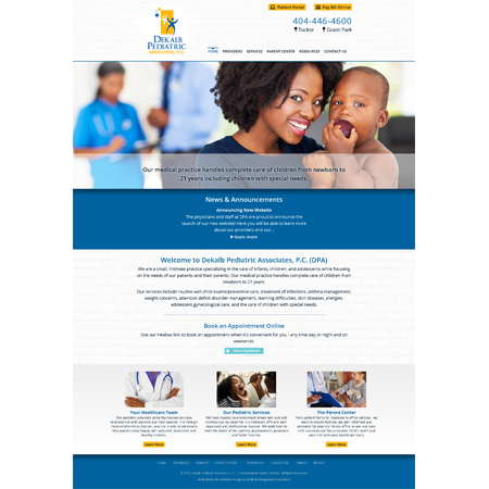 Dekalb Pediatric Associates, Pediatrics