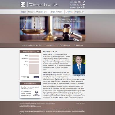 Warman Law, P.A.  -  Professional Society