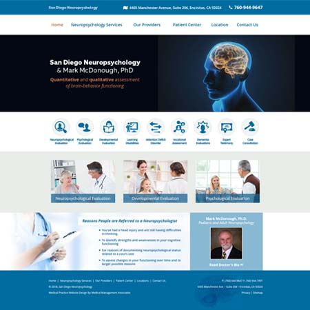 San Diego Neuropsychology - Neuropsychology