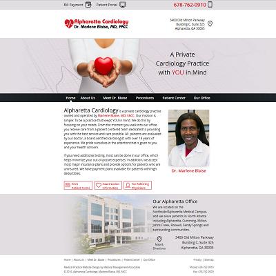 Alpharetta Cardiology - Marlene Blaise, MD, FACC  -  Cardiology