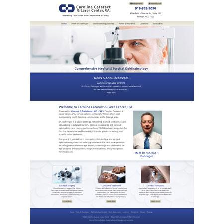 Carolina Cataract & Laser Center, P.A. - Ophthalmology
