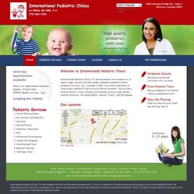 International Pediatric Clinics, Pediatrics