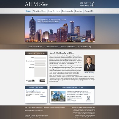 Alan H. Matilsky Law, Professional Society