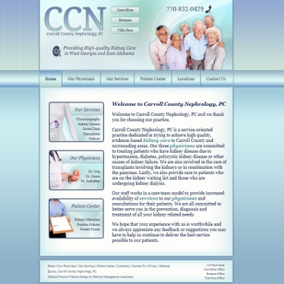 Carroll County Nephrology, PC  -  Nephrology
