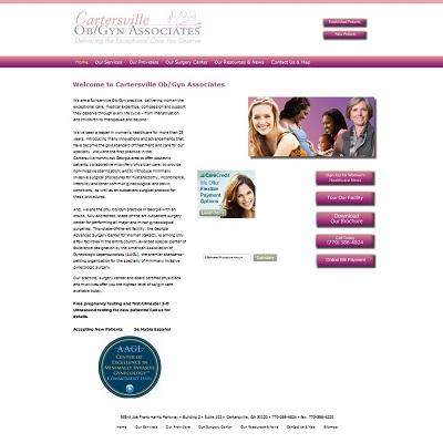 Cartersville OB/GYN Associates  -  Gynecology/Obstetrics