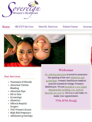 Sovereign Womens Healthcare, Gynecology/Obstetrics