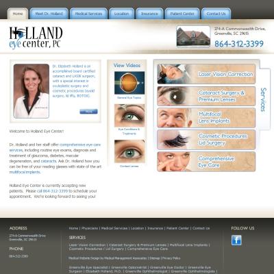 Holland Eye Center  -  Ophthalmology