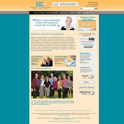 Specialists in Gastroenterology, Gastroenterology