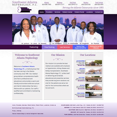 Southwest Atlanta Nephrology, Nephrology