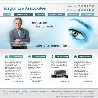 Yasgur Eye Associates, Ophthalmology