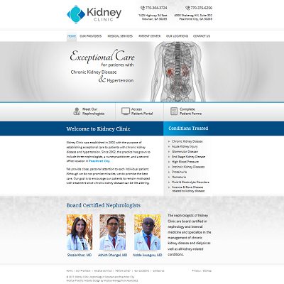 Kidney Clinic Nephrology & Hypertension - Nephrology