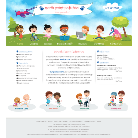 North Point Pediatrics - Pediatrics