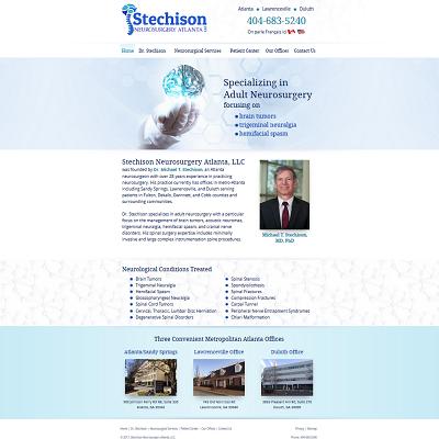 Stechison Neurosurgery Atlanta, LLC, Neurosurgery