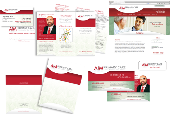 AIM Primary Care Branding Package