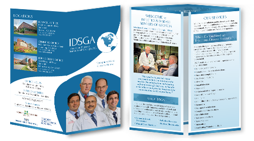 Optimized Double-gate fold Brochure of Infectious Disease Services of Georgia