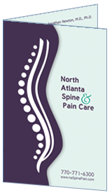 Optimized Bi-fold Brochure of North Atlanta Spine & Pain Care