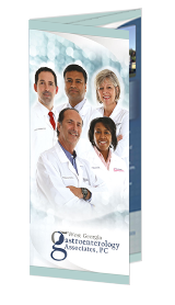 Optimized Tri-fold Brochure of West Georgia Gastroenterology Associates
