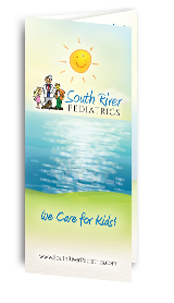 Optimized Tri-fold Brochure of South River Pediatrics