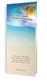 Optimized Tri-fold Brochure of Virgin Islands Oncology & Hematology