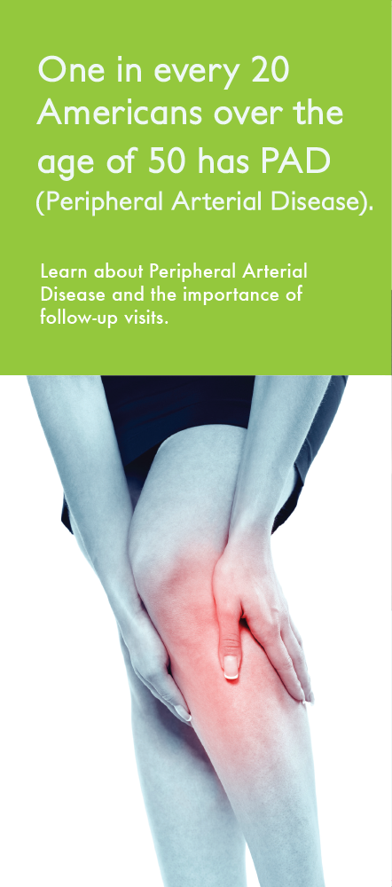 Panel 6 of Brochure of Peripheral Arterial Disease