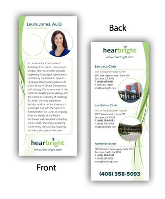 HearBright Rack Card