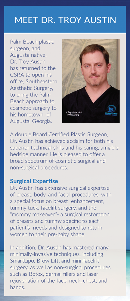 Panel 7 of Brochure of Southeastern Aesthetic Surgery