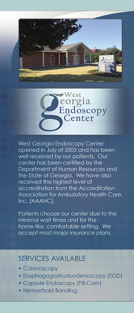 Panel 5 of Brochure of West Georgia Gastroenterology Associates