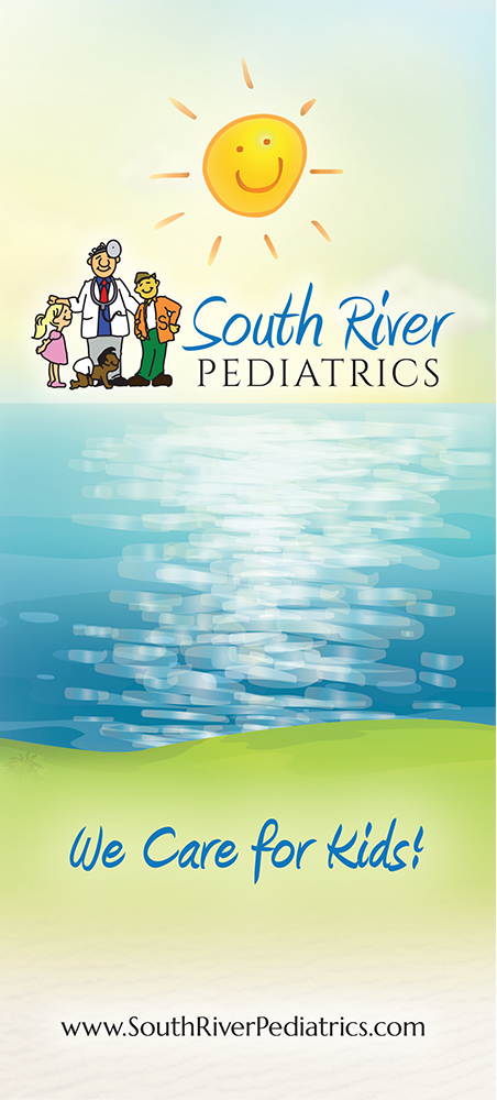 Panel 1 of Brochure of South River Pediatrics